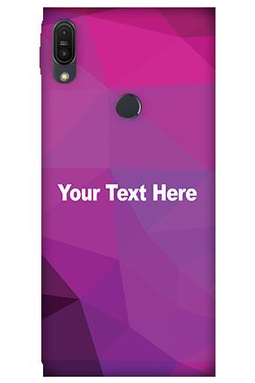 3D - Asus ZenFone Max Pro M1 Purple Mobile Cover