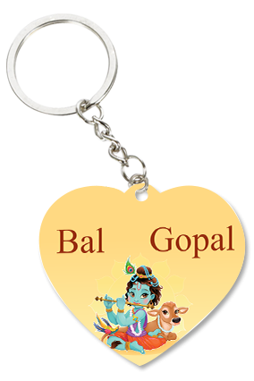 Bal Gopal Heart Key Chain