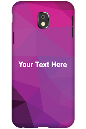 Customized 3D-Samsung Galaxy J3 (2017) Purple Mobile Cover
