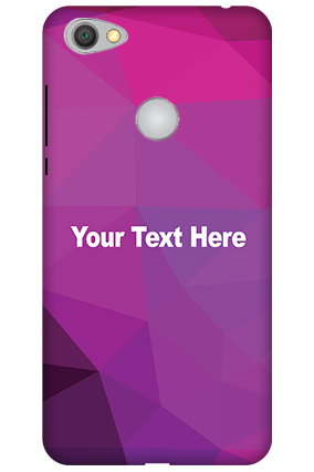 Customised 3D-Xiaomi Redmi Y1 Purple Mobile Cover