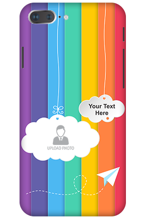 3D - Apple iPhone 8 Plus Rainbow Plastic Mobile Cover