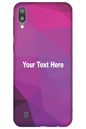 3D-Samsung Galaxy M10 Purple Mobile Covers