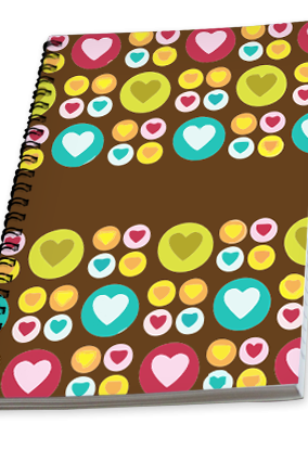 Colorful Campus Notebook