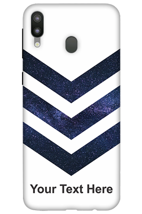 3D-Samsung Galaxy M20 Speedy Blue Customized Mobile Cover