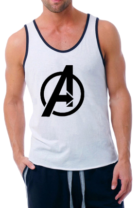 Marvel Avengers Poly Cotton Sleeveless Gym and Sportswear Tank Tops Sports Tshirt or Vests for Men