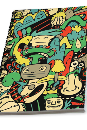 Abstract Campus Notebook