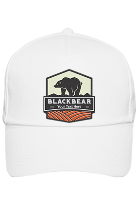 Blackbear Personalized Cotton White Cap