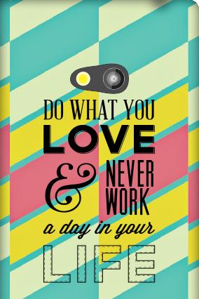 Lumia 625   Work Love Mobile Cover