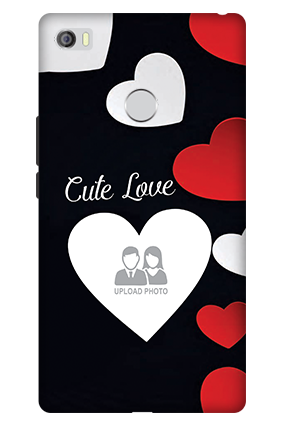 3D - Xiaomi Mi Max Cute Love Mobile Cover