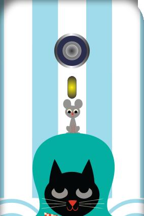 Black Cat Micromax A116 Mobile Cover