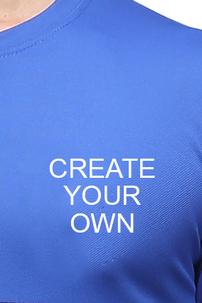 Effit Create Your Own Navy Royal T-Shirt