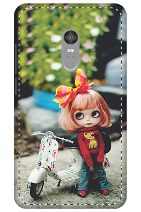 3D - Xiaomi Redmi Note 4 Cute Doll Mobile Cover