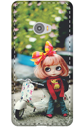 3D-Xiaomi Mi Note 2 Cute Doll Mobile Cover