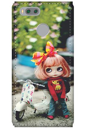 3D-Xiaomi Mi 5x Cute Doll Mobile Cover