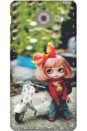 3D-samsung galaxy j7 Max Cute Doll Mobile Cover