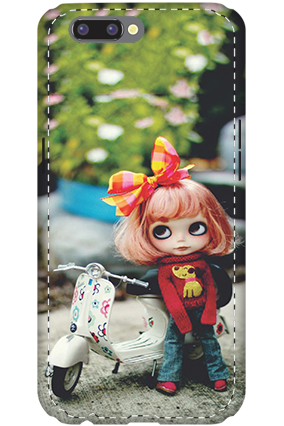 3D- Oppo R11 Cute Doll Mobile Cover