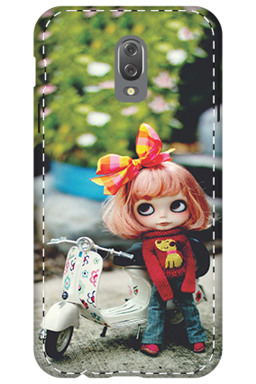 3D - Infinix Hot 4 Cute Doll Mobile Cover