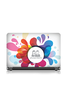 Personalized Mixed Colors Laptop Skin