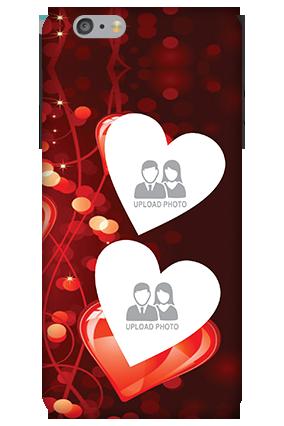 Customize 3D-Apple iPhone 6 Plus Heart Beats Mobile Cover