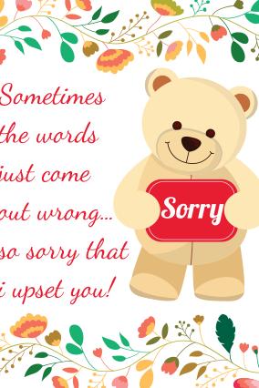 Sorry cards make sorry greeting card online india printland teddy stuff sorry cord teddy stuff sorry cord m4hsunfo