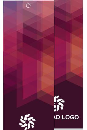 Purple Pattern Bookmark