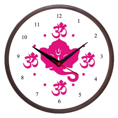 Divine Grace Wooden Wall Clock
