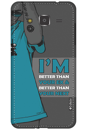 3D - Samsung Galaxy J2 Don't Mess With Me Mobile Cover