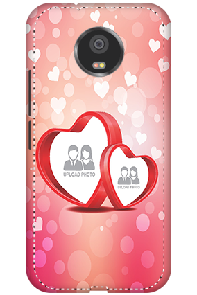 3D - Motorola Moto G5S Floral Hearts Anniversary Mobile Cover