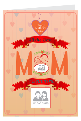 My Wonder Woman Mother's Day Portrait Greeting Card