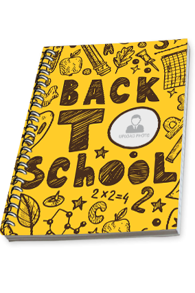 Amazing Back To School Side Spiral Notebook