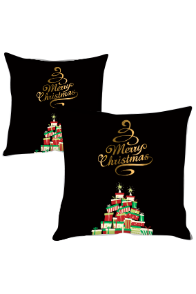 Surprise Gifts Merry Christmas Cushion Cover