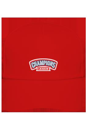 Champions League Designer Cotton Red Cap