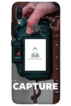 3D-Xiaomi Redmi Note 7 Pro I Love Photography Personalized Mobile Cover