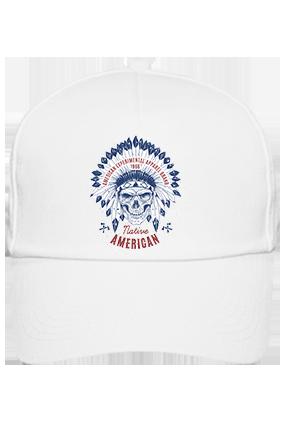 American Designer Cotton White Cap