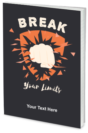 Break Your Limits Customized  Notebook