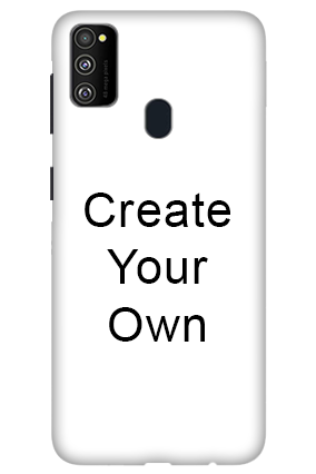 3D-Create Your Own Samsung M 30s Mobile Cover