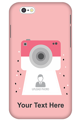 3D-iPhone 6 Camera with Custom Photo Mobile Back Cover