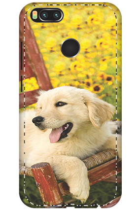 3D - Xiaomi Mi A1 Cute Dog Mobile Cover