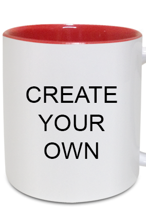 Create Your Own Inside Red Mug