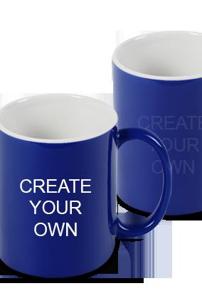Design Your Own Blue Magic Mug