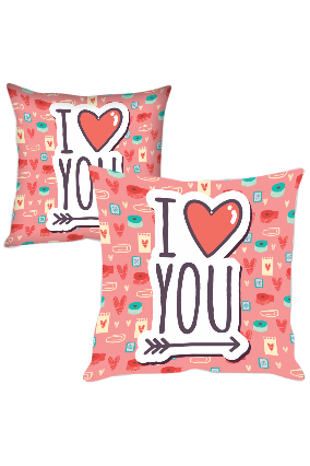 Cute and Lovely Printed Cushion Cover
