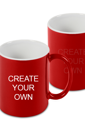 Premium Create Your Own Red Magic Mug