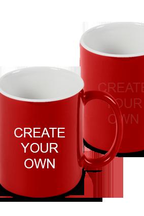 Create Your Own Red Magic Mug