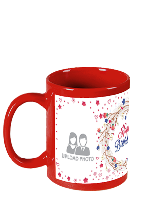 Soothing Red Patch Mug
