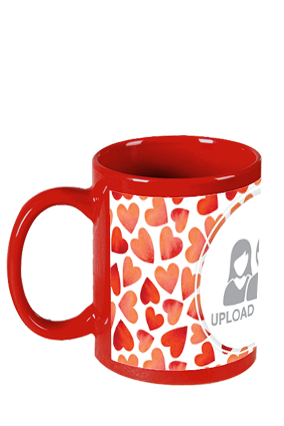 All You Need Is Love Red Patch Mug