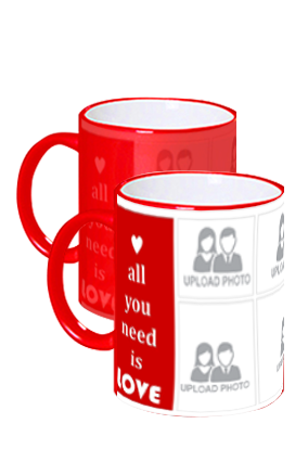 All You Need Is Love Red Magic Mug