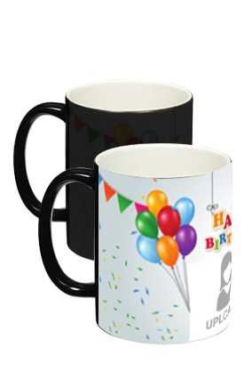 Happy Birthday Black Magic Mug