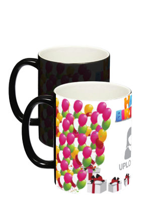 Balloons Black Magic Mug