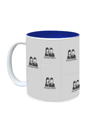 Creative Inside Blue Mug