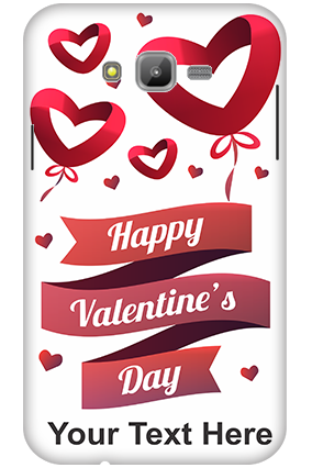 3D-Samsung Galaxy J7 Flying Hearts Mobile Cover